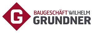 Bauunternehmen Wilhelm Grundner Logo